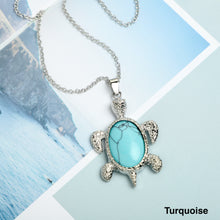 Load image into Gallery viewer, Tortoise Stone  Necklace