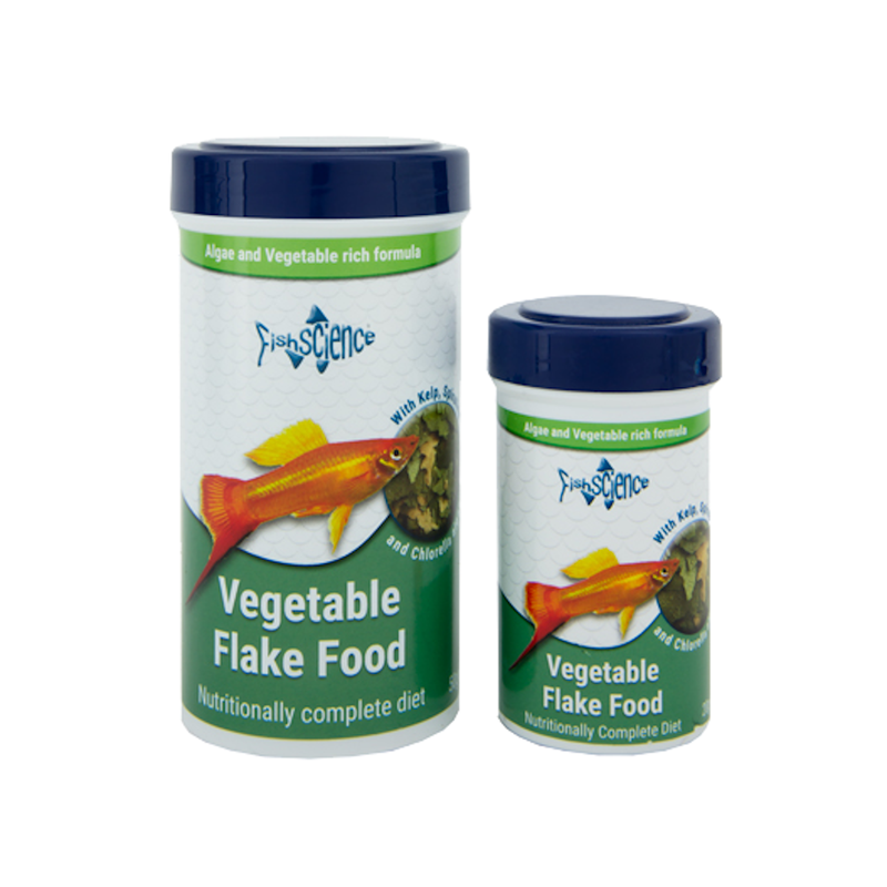 FishScience Vegetable Flake Food