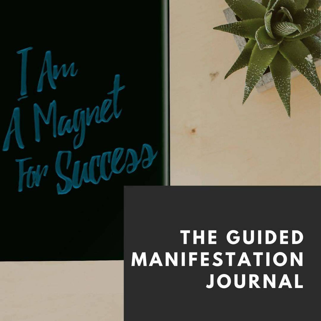 The Guided Manifestation Journal - Digital Download