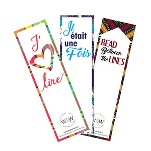 Afrocentric bookmarks