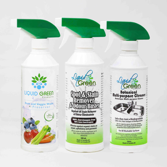 Home Cleaning Bundle_3 x 500 mL.