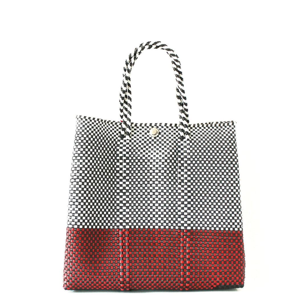 Mercado Bag Small Red Bottom