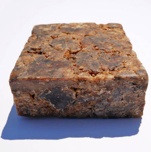 S A M I N A - 100% Raw Black Soap