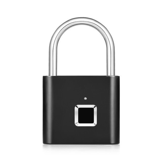Rechargeable Fingerprint Smart Padlock
