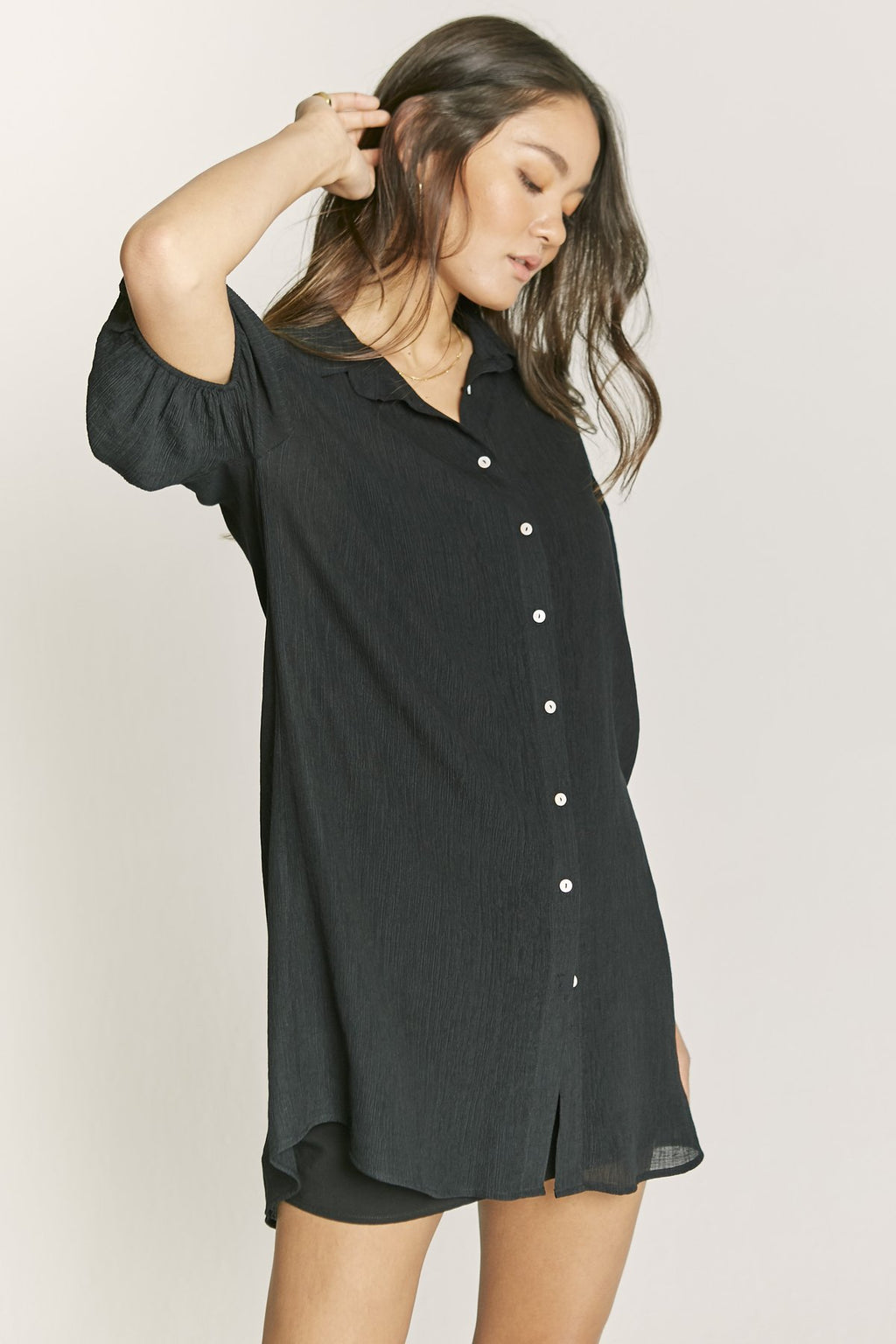 reagan shirt dress