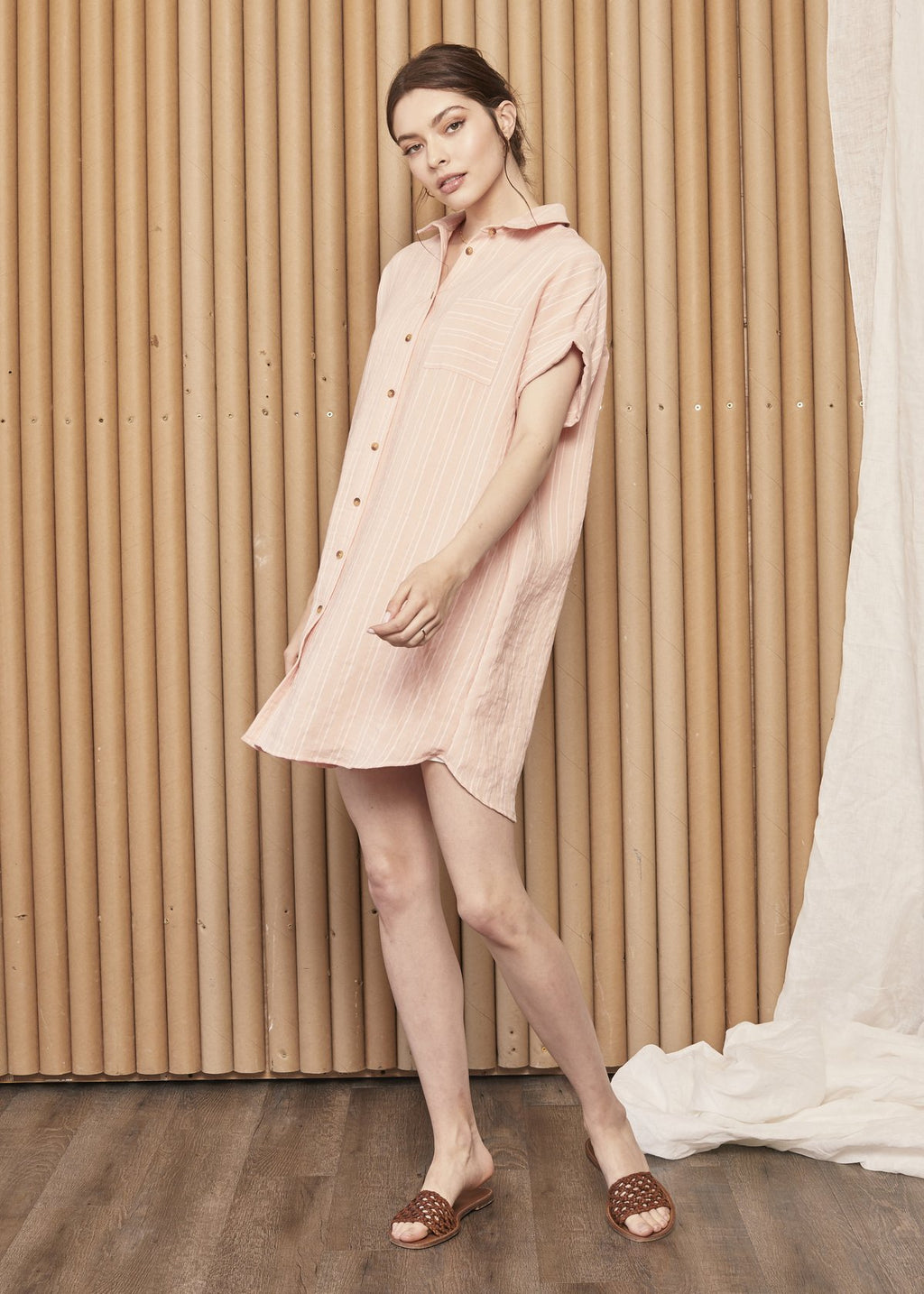petals shift dress