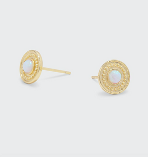 sunburst coin studs