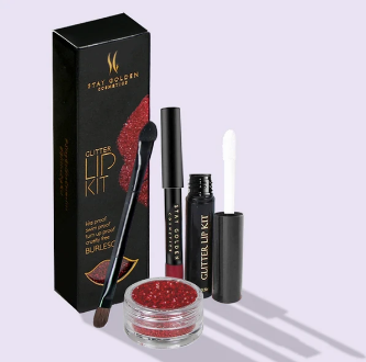 Stay Golden Cosmetic Lip Kit