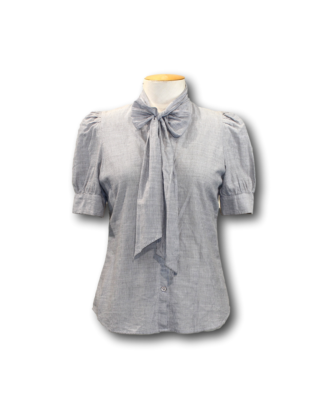 Helen Cherry Bow Shirt - Size S