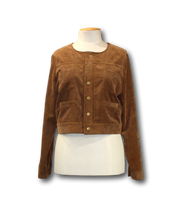 Load image into Gallery viewer, Goodness Short Cord Jacket - Size S