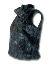 Load image into Gallery viewer, Helen Cherry Faux Fur Gilet - Size M