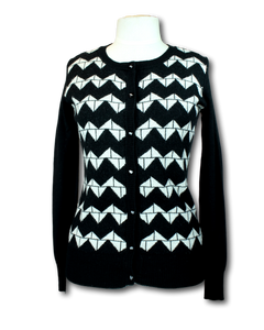 Andrea Moore Crew Neck Cardigan - Size S