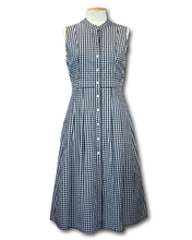 Load image into Gallery viewer, Trenery Button Down Midi Dress - Size 8