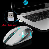 Wireless Gaming Mouse 2.4GHz Wireless Connection Optical Mouse