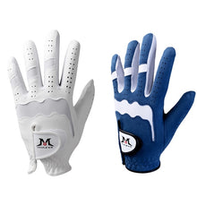 Load image into Gallery viewer, Genuine Leather Left Hand Soft Ventilated Golf Glove pro golfing