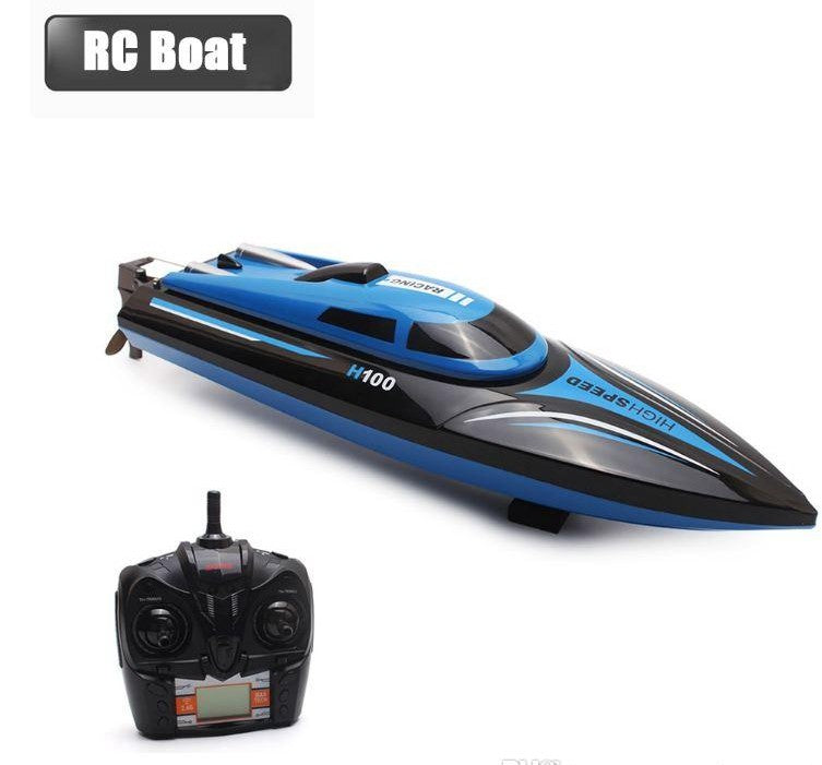 rc boat 2.4GHz race boat with controller and battery