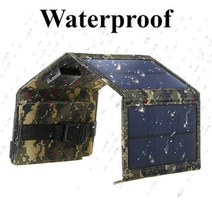 150W Camouflage Waterproof Portable 5.5V Solar Panel