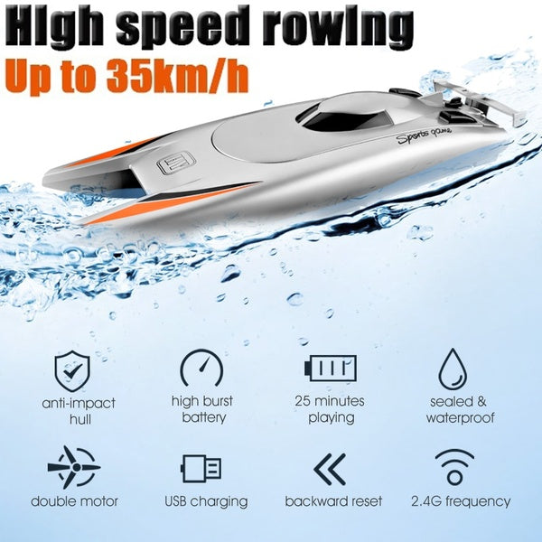 High Speed Racing Boat With Water Cooling System NEW MODEL