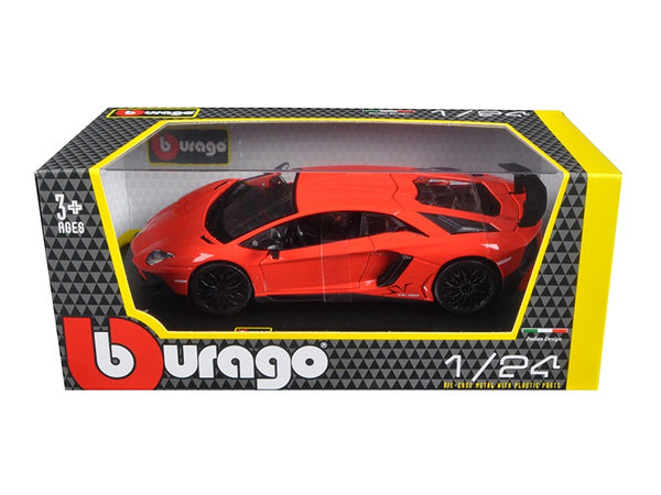 Lamborghini Aventador 1/24 Diecast Model Car by Burago