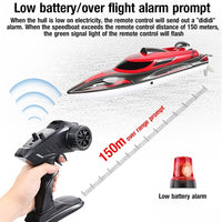 high speed red race boat Remote Control Boat 42km/H
