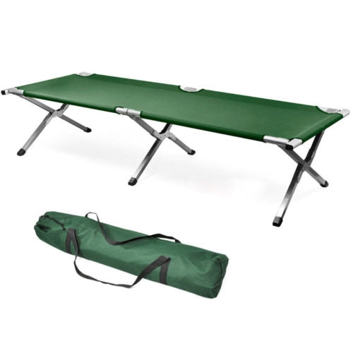 Portable Folding Camping Cot with Carrying Bag