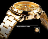 Yacht Sailor Wristwatch Gold Watch