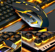 Load image into Gallery viewer, gaming mouse and keyboard pro high tech PC combo