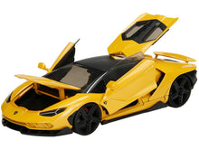 Load image into Gallery viewer, Lamborghini Centenario Yellow 1/24 Diecast Model Car NON RC
