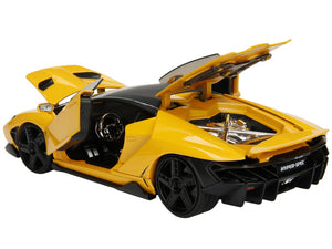 Lamborghini Centenario Yellow 1/24 Diecast Model Car NON RC