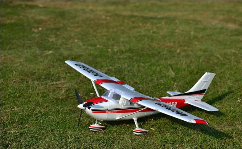 RC airplane HOBBY TOY BEGINNER plane 5 channel 1410mm WINGSPAN CESSNA PNP KIT