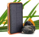 Waterproof solar power bank 50000mah battery external solar charger powerbank