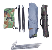 Load image into Gallery viewer, pro 2 man camo hiking tent full scale strong material