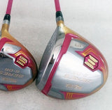 2020 womens golf club drivers set complete 3 clubs 9.5 ladies