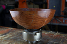 Load image into Gallery viewer, African Sumac Bowl With Silver Inlay