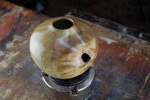 Figured Poplar Hollow Form