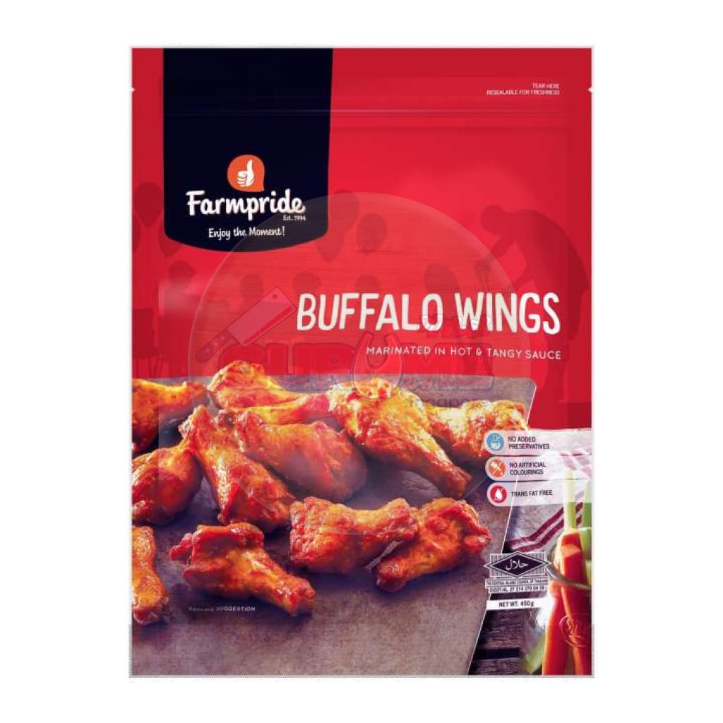 Farmpride Hot & Tangy Buffalo Wings 450G