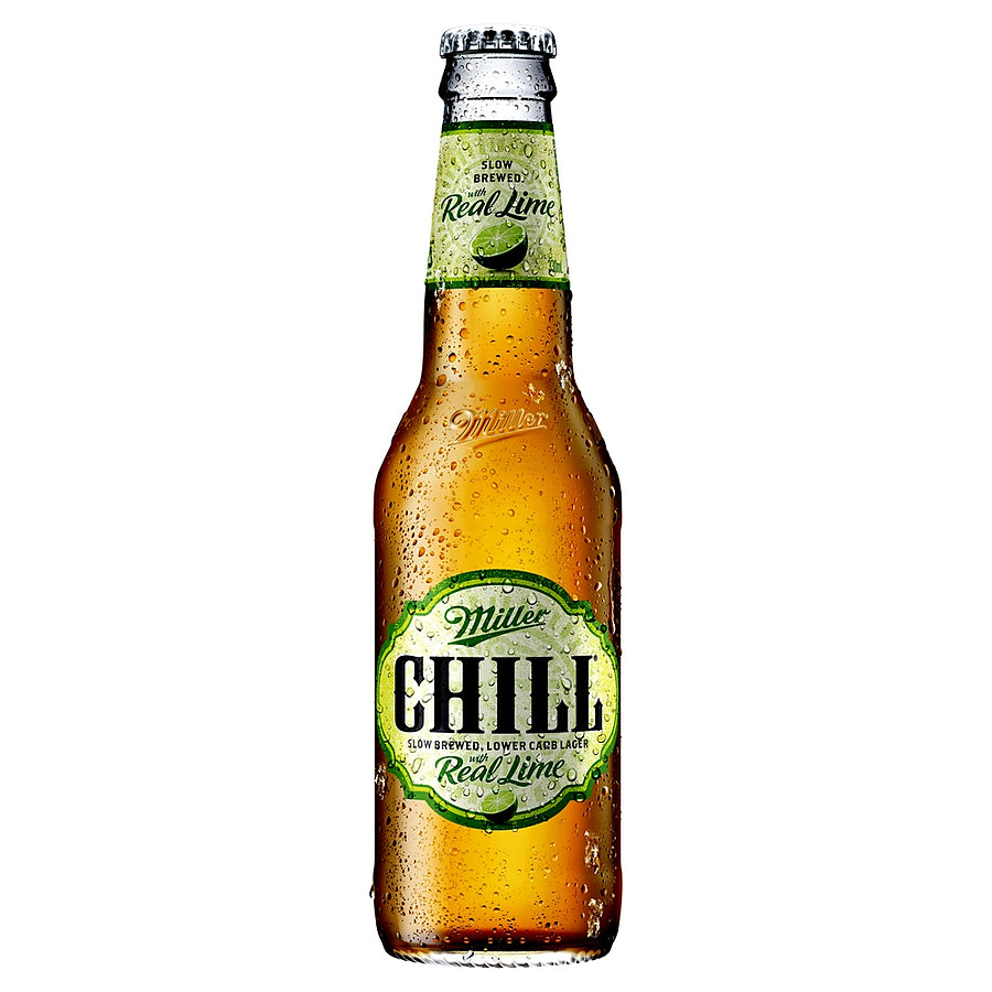 Miller Chill with Lime Lager 330mL