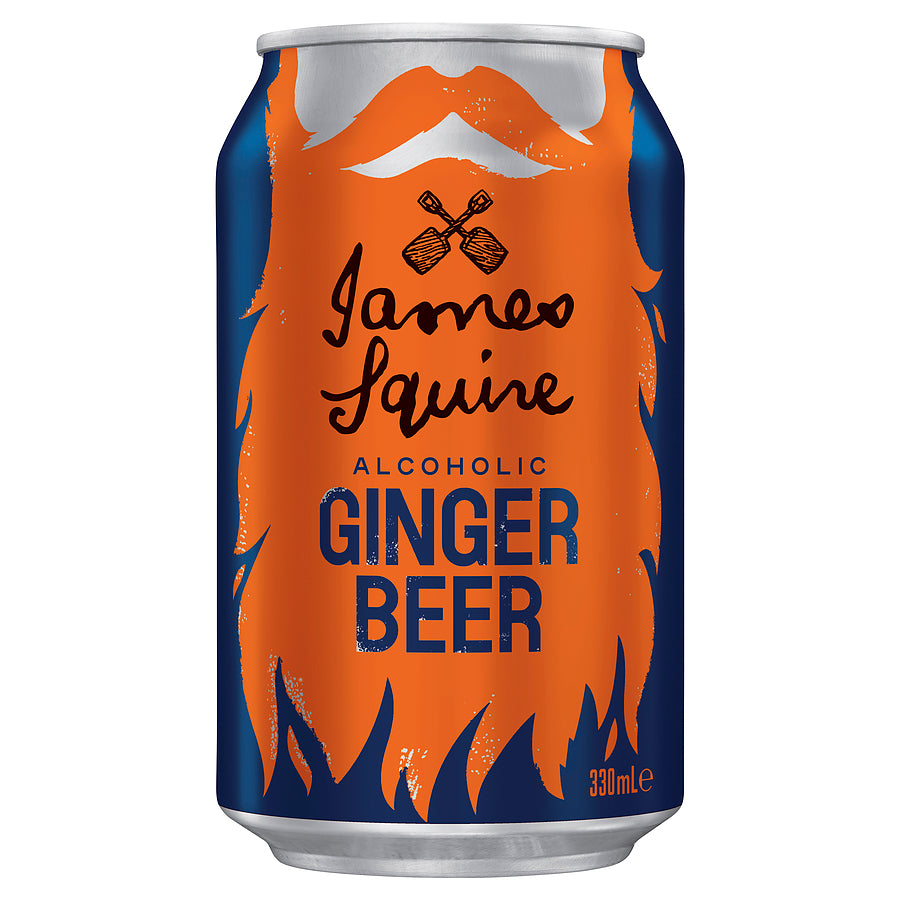 James Squire James Squire Ginger Beer Can 330ml