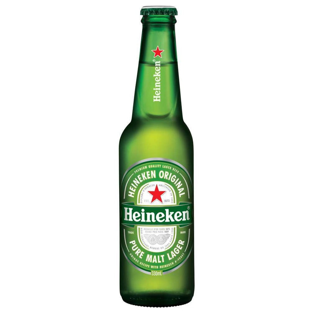 Heineken Lager Bottles 330mL