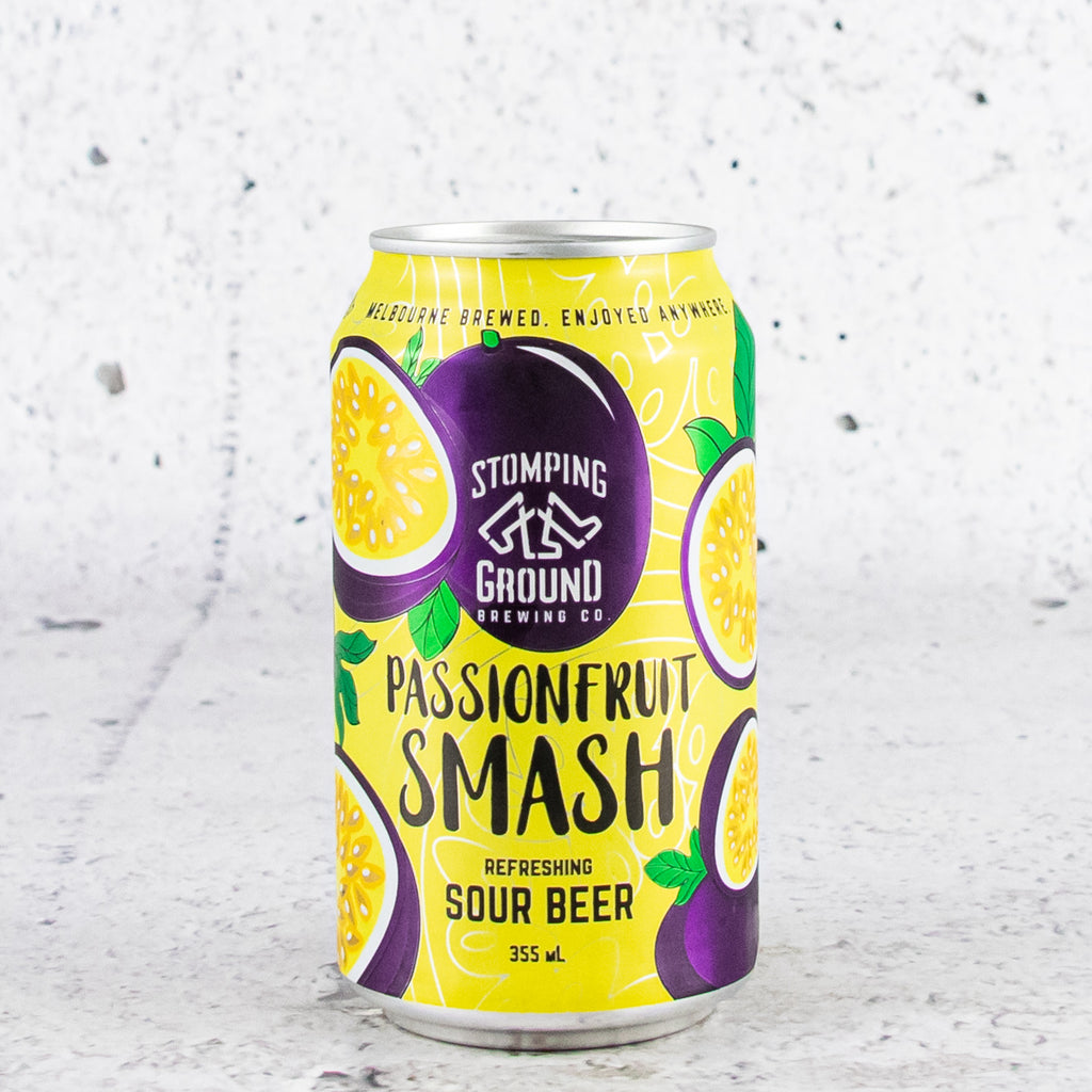 Stomping Ground Passionfruit Smash Sour Beer 355mL