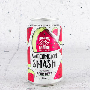 Stomping Ground Watermelon Smash Sour Beer 355mL