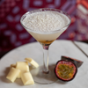 White Chocolate & Passionfruit Martini