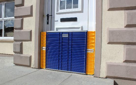 Flood Barrier Door Dam -Ultimate Flood Protection - Dam Easy
