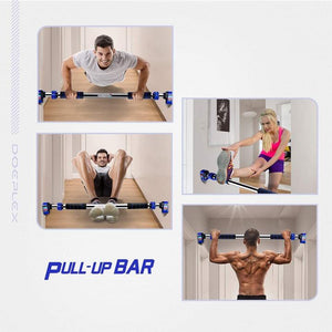 DOOR EXERCISE BAR WITHOUT SCREW INSTALLATION [ FREE SHIPPING ]