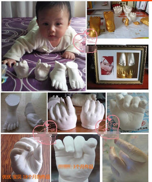 Baby Casting 3D Hand & Footprint [ FREE SHIPPING ]
