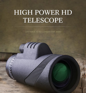 40X60 HIGH DEFINITION MONOCULAR TELESCOPE  [ FREE SHIPPING ]