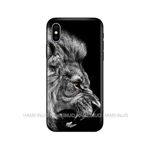 Big Lion Animal Case for iPhone