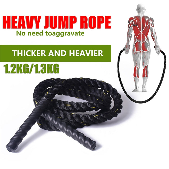 Weighted Jump Rope [ FREE SHIPPING ]