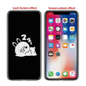 6D iPhone Screen Cartoon Glass Film