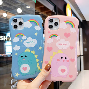3D Cute Cartoon Holder Stand Case for iPhone